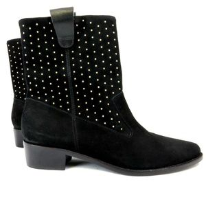 REBECCA MINKOFF Ankle Boots 8M Black new